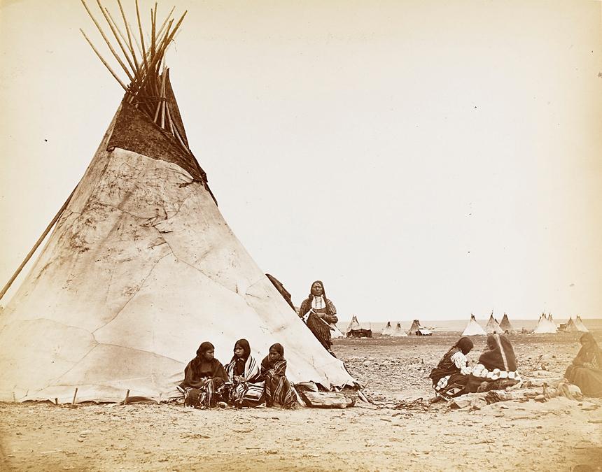 William_S__Soule_-_Arapaho_camp1