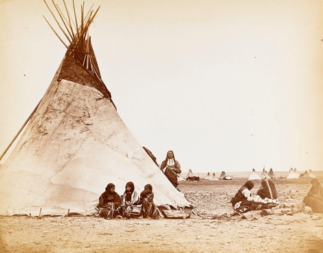 William_S__Soule_-_Arapaho_camp1