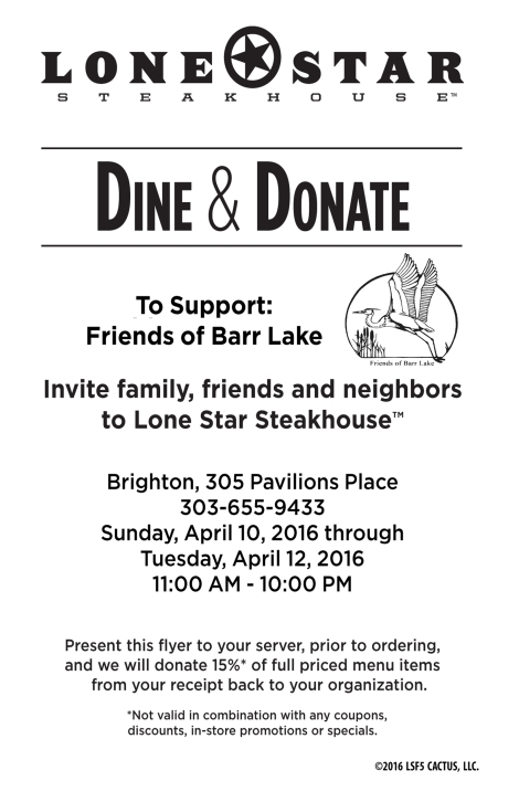 Lonestar Dine&Donate with FOBL logo halfsheet