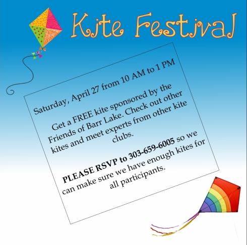 Kite Festival Sponsored by Friends of Barr Lake
