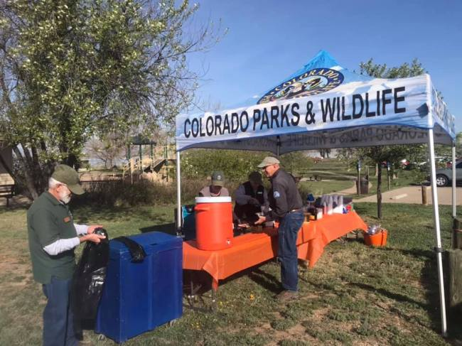 Friends of Barr Lake - pancakes and drinks