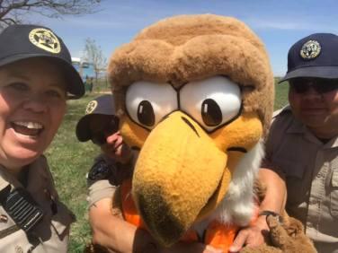 Gotta love the Eagle!