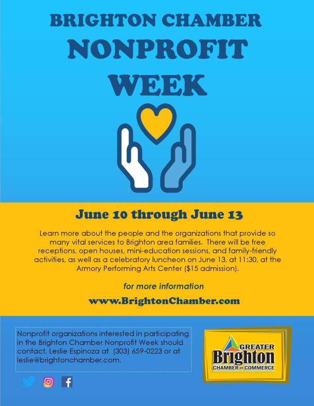 Brighton Chamber Nonprofit Week