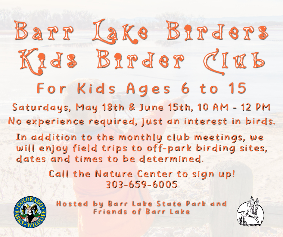 Barr Lake Birders Club for Kids