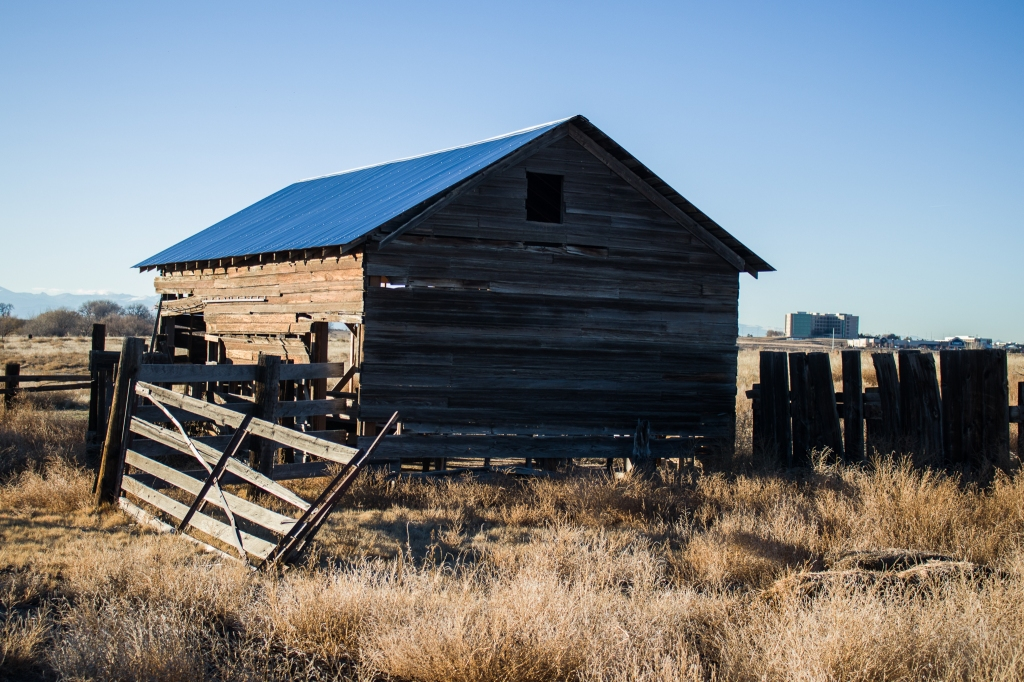 Bergman Barn at Barr Lake State Park