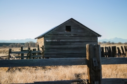 Bergman Barn and Corral