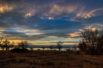 Sunset at Barr Lake