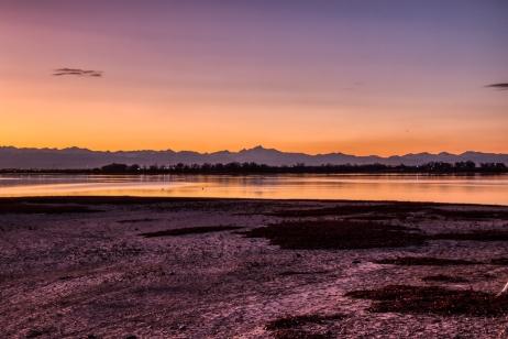 Barr Lake Sunset