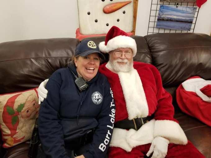 Santa and Ranger Michelle