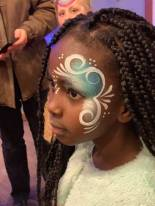 Face Painting at the Winter Wonders Holiday Trail