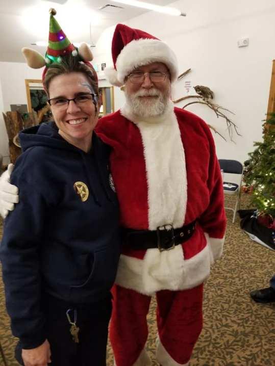 Santa and Ranger Danyel