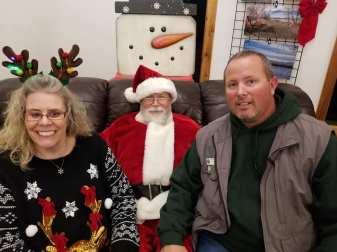Santa was very busy!