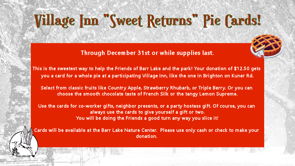 Sweet Returns Pies for the Holidays!
