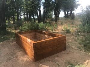 Plant Box for the Sensory Garden