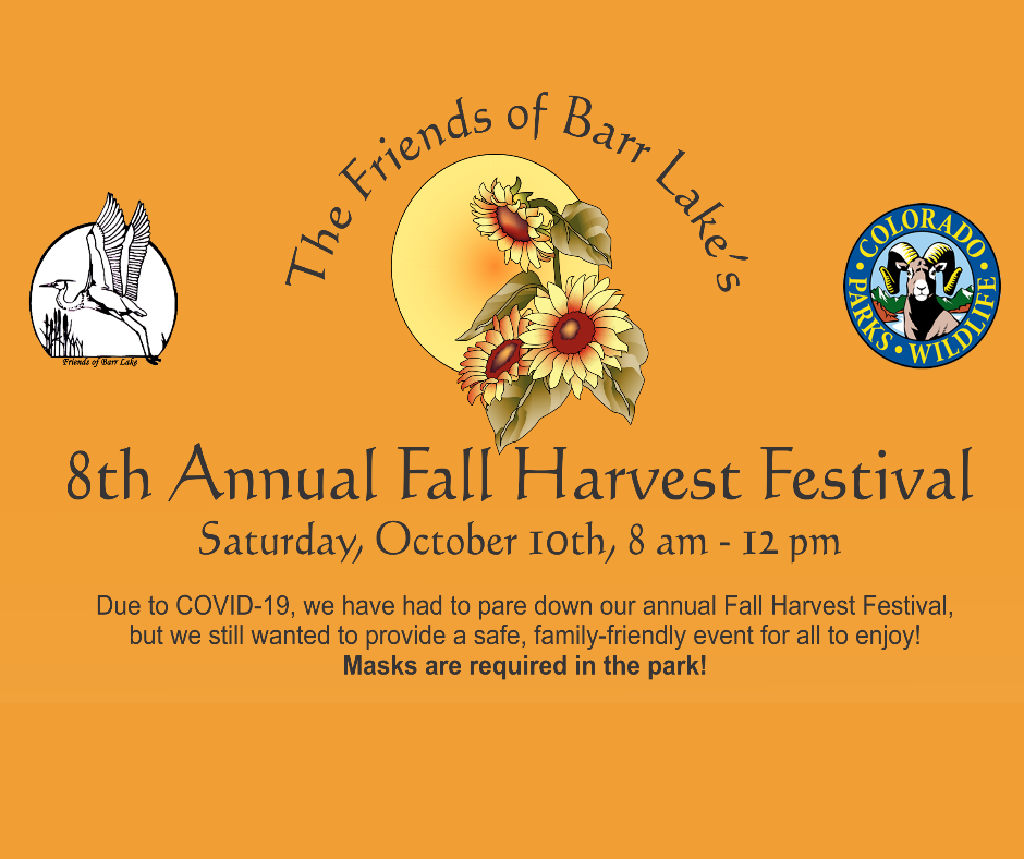 Friends of Barr Lake 8th Annual Fall Harvest Festival