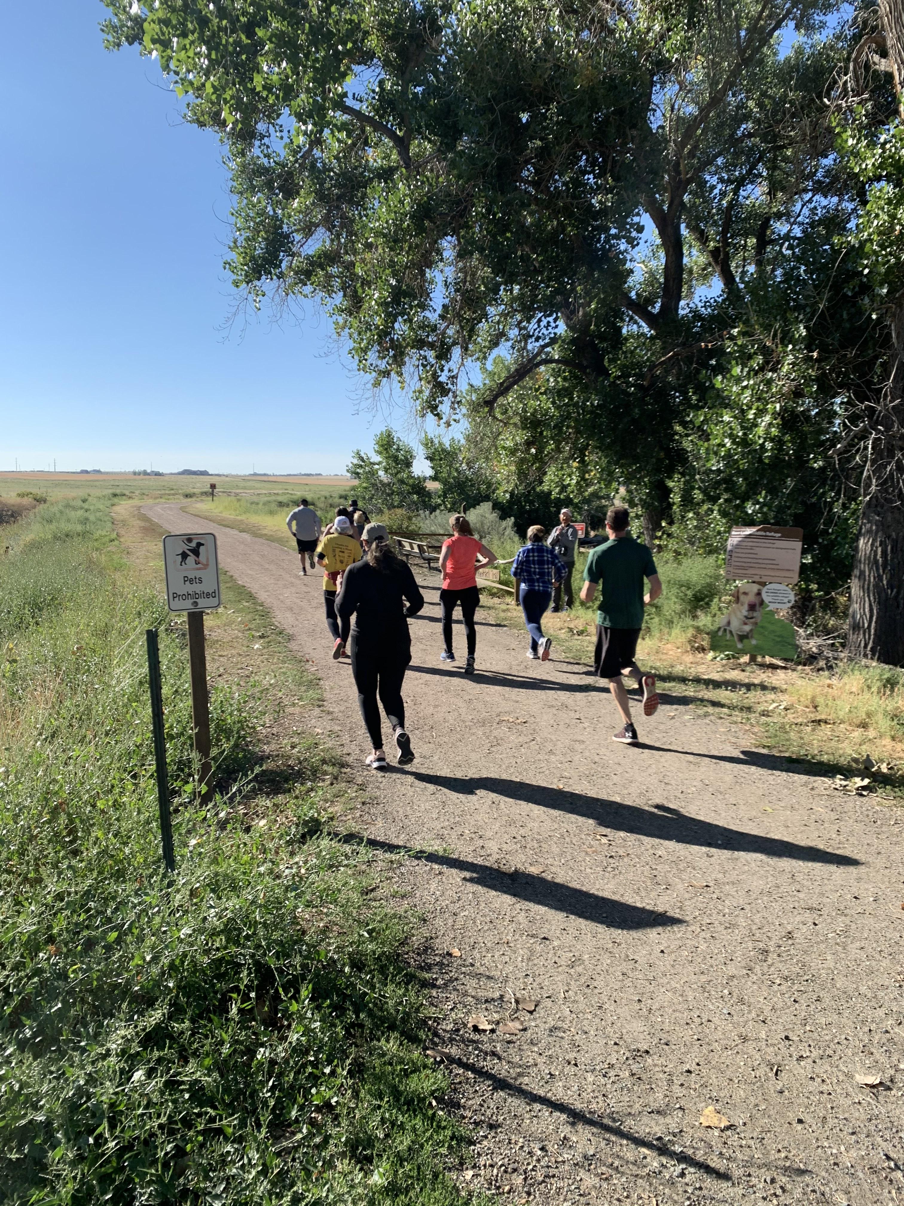 Raptor Run 5K 2020 Runners