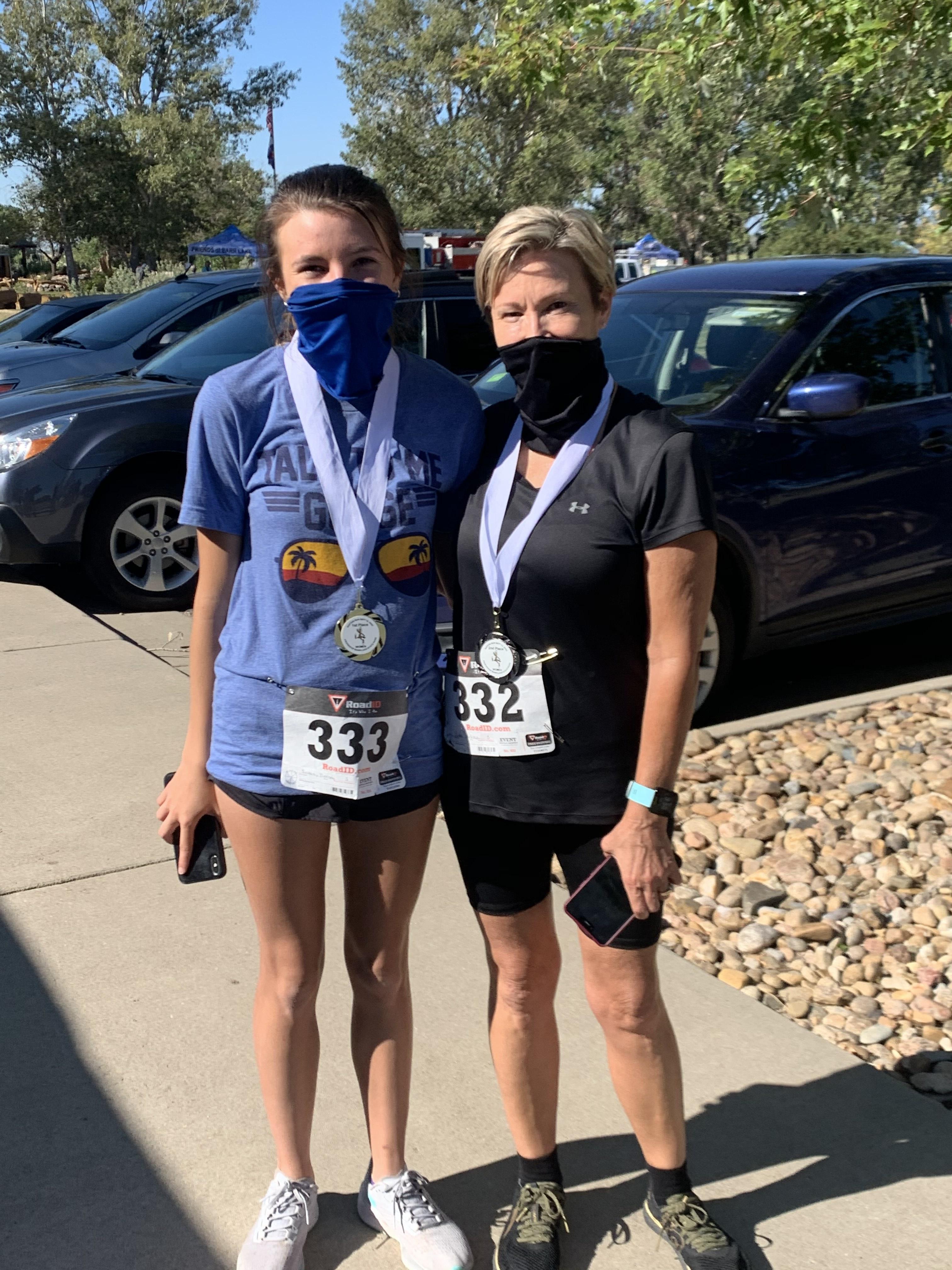 Raptor Run 5K 2020 Medal Winners