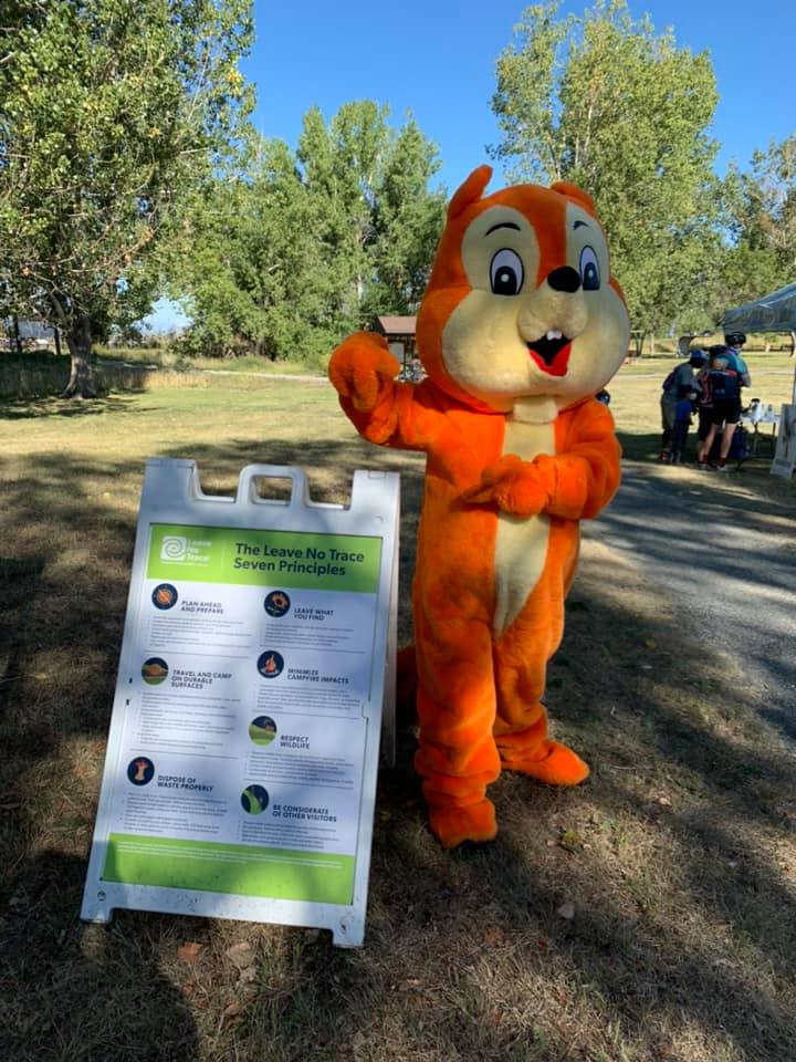 Rocky the Barr Lake Squirrel - Leave No Trace